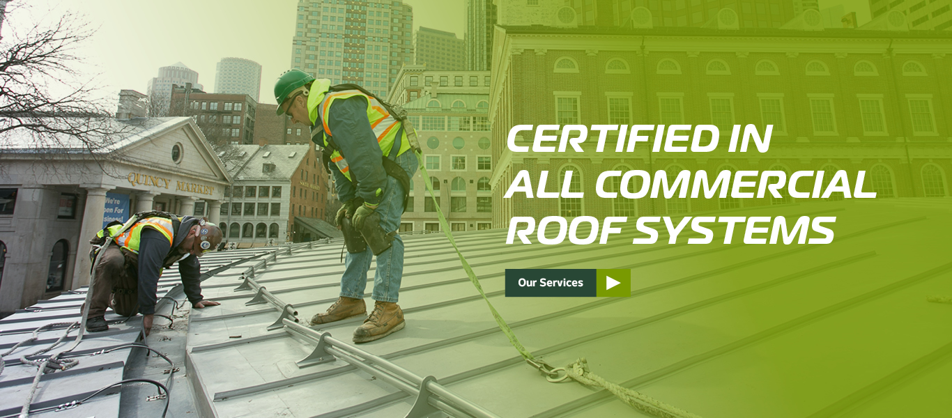 Commercial Roofing Workers
